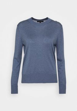 Banana Republic - EASY CREW SOLIDS - Strickpullover - light blue