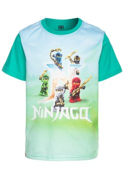 LEGO Wear - T-shirt print - green melange
