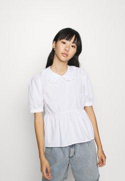 New Look - HALLIE COLLAR  - Camicetta - white