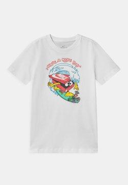 Nike Sportswear - DAY WAVE UNISEX - T-shirt print - white