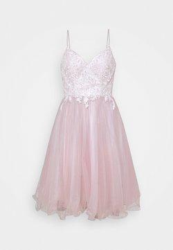 Luxuar Fashion - Cocktailkleid/festliches Kleid - ivory/mauve