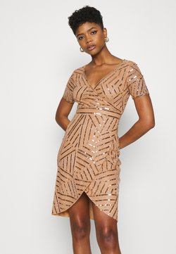 Lace & Beads - LEYLANI DRESS - Cocktail dress / Party dress - gold