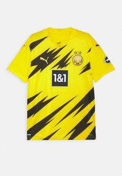 Puma - BVB BORUSSIA DORTMUND HOME REPLICA UNISEX - Vereinsmannschaften - cyber yellow/black
