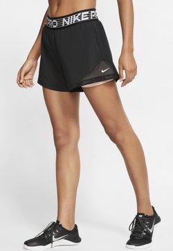 Nike Performance - SHORT  - Pantalón corto de deporte - black/washed coral/white