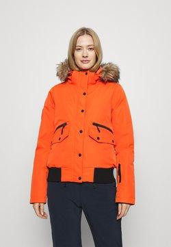 Superdry - EVEREST SNOW - Laskettelutakki - havana orange