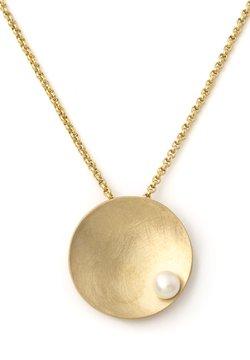 Heideman - MIT PERLE  - Halskette - goldfarben