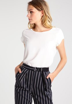 ONLY - ONLVIC SOLID  TOP - Blouse - cloud dancer