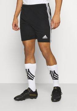 adidas Performance - SQUADRA 21 - Träningsshorts - black/white