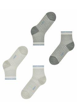 Esprit - 2-PACK - Socken - black/off white