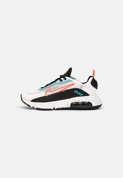 Nike Sportswear - AIR MAX 2090 UNISEX - Baskets basses - white/turf orange/black/aquamarine