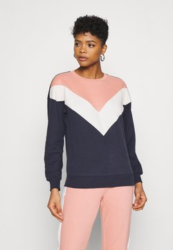 ONLY - ONLASHLEY  - Sweatshirt - night sky/blue/rose