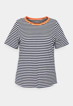 MY TRUE ME TOM TAILOR - T-Shirt print - navy/white