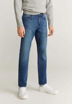 Mango - BOB - Jeans Slim Fit - dunkelblau vintage