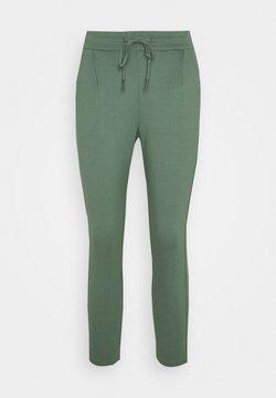Vero Moda Petite - VMEVA LOOSE STRING PANTS - Jogginghose - mint