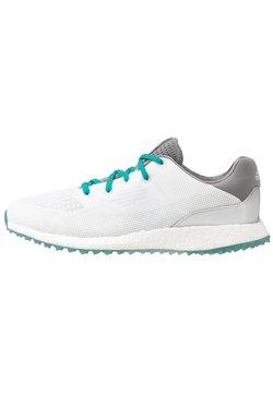 adidas Golf - CROSSKNIT CROWS NEST - Golfschuh - footwear white/glory green/orbit grey