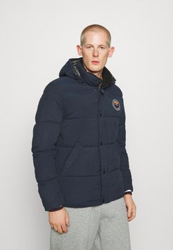 Jack & Jones - JJSURE PUFFER JACKET - Winterjacke - navy blazer