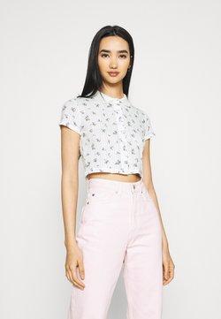 BDG Urban Outfitters - POINTELLE DITSY  - Poloshirt - white