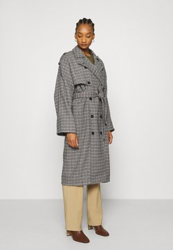 Gestuz - MARIA COAT - Mantel - black/blue