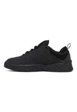 DC Shoes - WILLIAMS SLIM - Sneaker low - black/battleship/lime