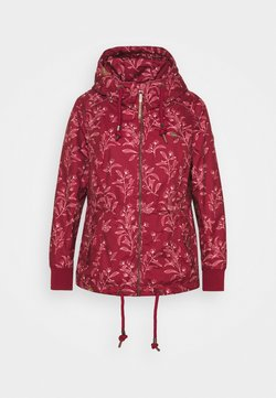 Ragwear Plus - DANKA LEAVES - Manteau court - wine red