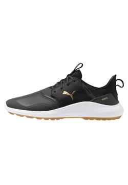 Puma Golf - IGNITE NXT CRAFTED - Golfschoenen - black/team gold