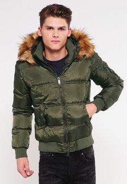 Bomboogie - Gewatteerde jas - green