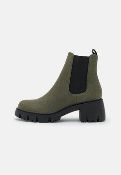 Rubi Shoes by Cotton On - VEGAN KAIA COMBAT GUSSET BOOT - Botki - khaki
