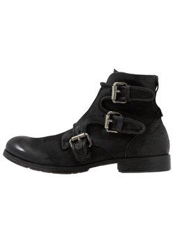A.S.98 - CLASH - Cowboy/biker ankle boot - nero
