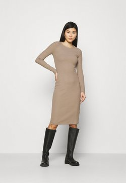 Anna Field - Vestido de punto - light brown