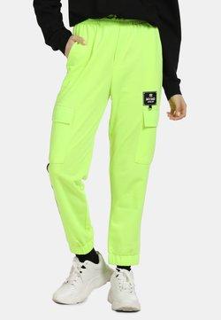 myMo ATHLSR - Jogginghose - neon grün