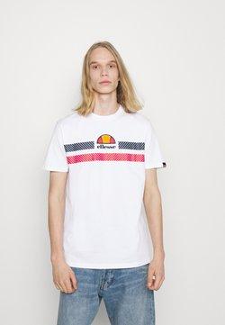 Ellesse - GLISENTA TEE - Camiseta estampada - white
