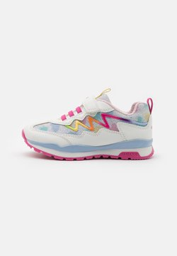 Geox - PAVEL GIRL - Sneaker low - white/multicolor