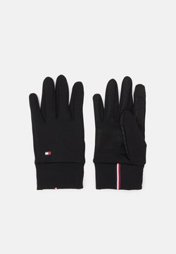 Tommy Hilfiger - MENS TOUCH GLOVES - Fingerhandschuh - black