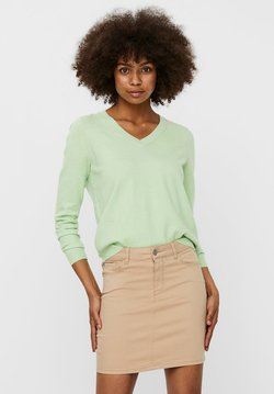Vero Moda - Jersey de punto - pastel green