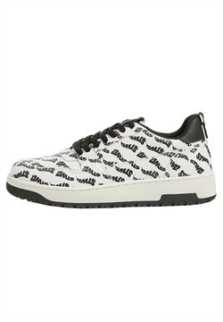 PULL&BEAR - STWD-PRINT - Sneaker low - white