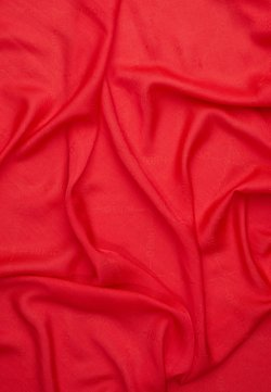 HUGO - LOGO WRAP - Chusta - red