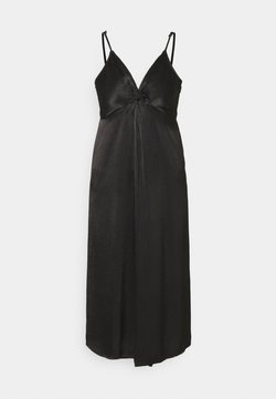 YAS - YASBRANDI STRAP MIDI DRESS - Cocktailkleid/festliches Kleid - black