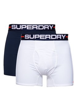 Superdry - DOUBLE PACK - Shorty - optic/richest navy