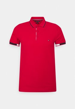 Tommy Hilfiger - PLACKET DETAIL SLIM FIT - Polo - primary red
