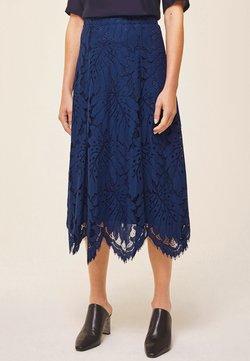 IVY & OAK - Spódnica trapezowa - blue