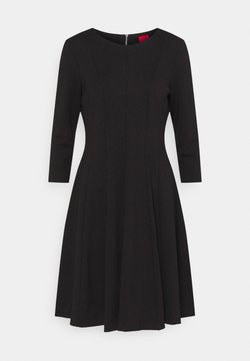 HUGO - DIAMANDA - Vestido ligero - black
