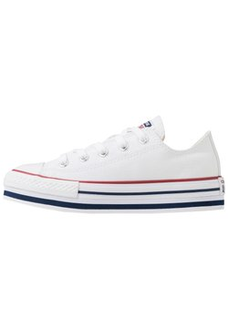 Converse - CHUCK TAYLOR ALL STAR PLATFORM  - Baskets basses - white/midnght navy/garnet
