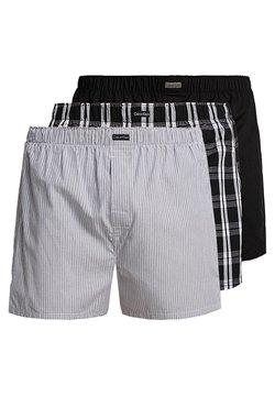 Calvin Klein Underwear - 3 PACK - Boxershorts - black
