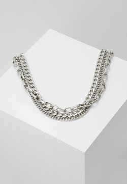 Weekday - MAURA CHAIN NECKLACE - Halsband - silver-coloured