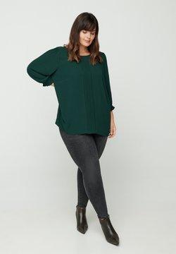 Zizzi - Bluse - dark green