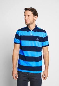 GANT - BARSTRIPE RUGGER - Poloshirt - toy blue