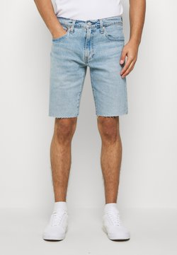 Levi's® - SLIM SHORT - Jeansshort - light-blue denim