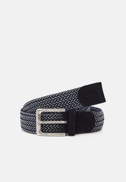 Selected Homme - SLHFRANK WEBBED BELT - Belt - dark navy