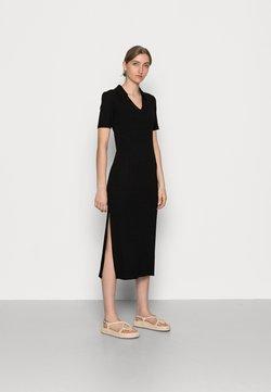 Samsøe Samsøe - REGINE LONG DRESS - Sukienka z dżerseju - black