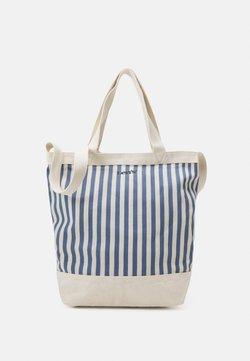 Levi's® - WOMEN'S STRIPED SHOPPER - Shoppingväska - blue